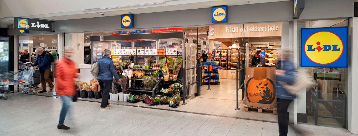 Lidl, Frihedens Butikscenter