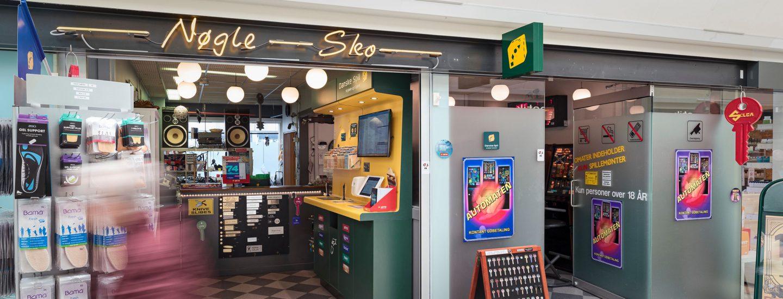 Nøgle & Sko Frihedens Butikscenter